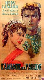 Affiche L'amant de Pâris