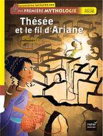 Couverture Thésée et le fil d'Ariane