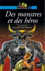 Couverture Des monstres et des héros