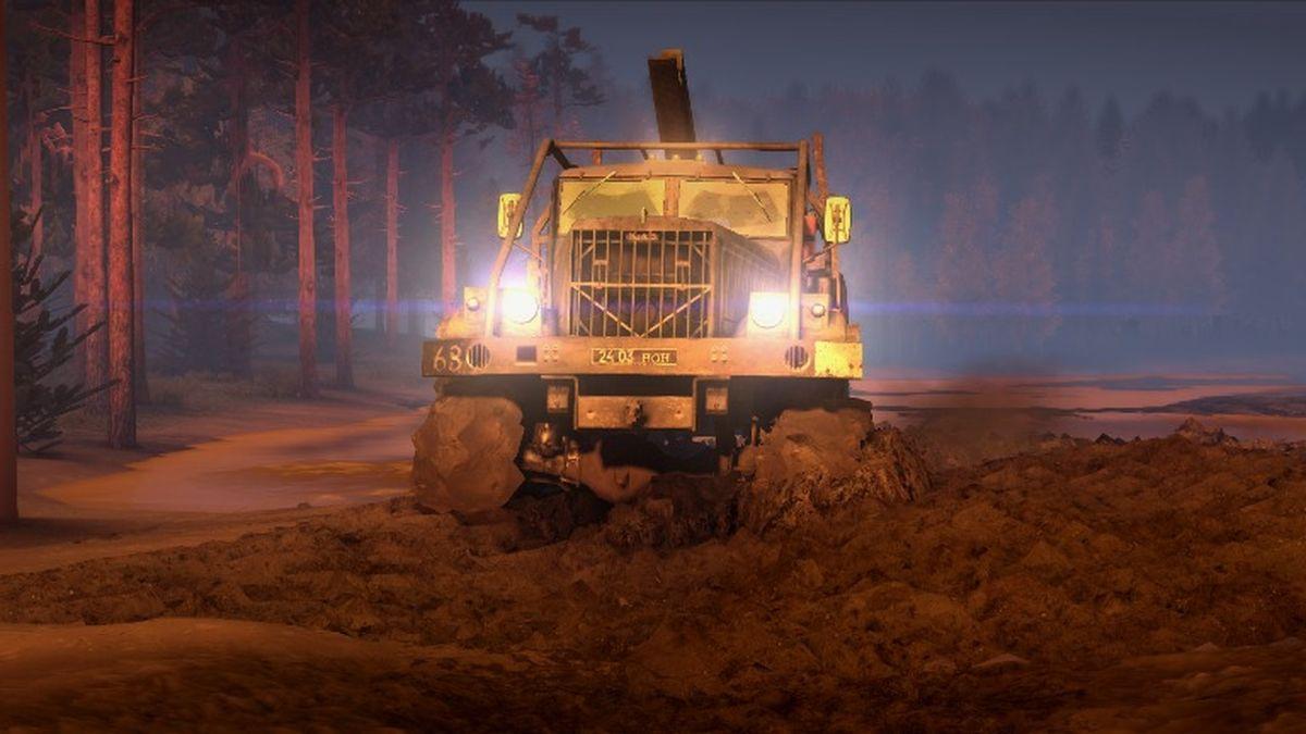 spintires camions tout terrain simulator 2014 jeu vid o. Black Bedroom Furniture Sets. Home Design Ideas