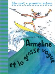 Couverture Armeline et la grosse vague