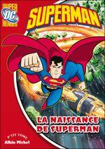 Couverture La naissance de Superman
