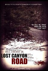Affiche Lost Canyon Road