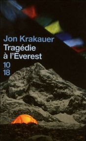 Couverture Tragédie à l'Everest
