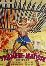 Affiche Le triomphe de Maciste