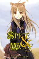 Couverture Spice and Wolf