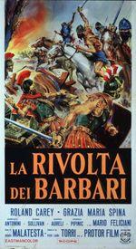 Affiche La Révolte des Barbares