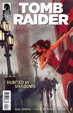 Couverture Hunted by shadows - Tomb Raider #4