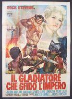 Affiche Le Gladiateur qui a Défié l'Empire