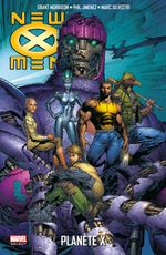 Couverture Planète X - New X-Men, tome 4