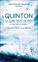 Couverture Quinton, la cure d'eau de mer