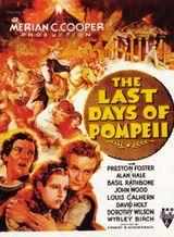 Affiche Les Derniers Jours de Pompéi