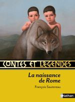 Couverture Contes et légendes de la naissance de Rome