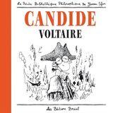 Couverture Candide (édition illustrée par Joann Sfar)