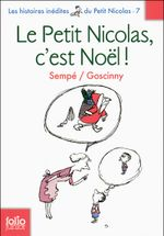 Couverture Le Petit Nicolas, c'est Noël !