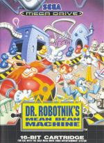 Jaquette Dr. Robotnik's Mean Bean Machine
