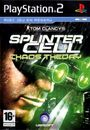 Jaquette Splinter Cell : Chaos Theory