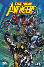 Couverture Siège - The New Avengers, tome 7