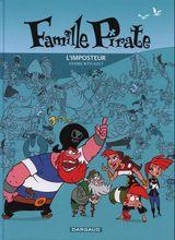 Couverture L'Imposteur - Famille Pirate, tome 2