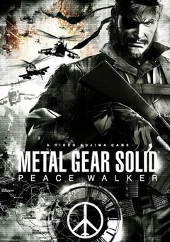 Jaquette Metal Gear Solid : Peace Walker