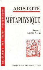 Couverture Métaphysique
