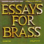 Pochette Essays For Brass - Volume 2