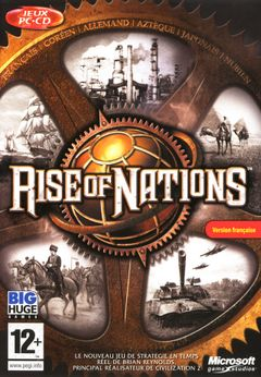 Jaquette Rise of Nations