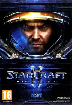 Jaquette StarCraft II: Wings of Liberty