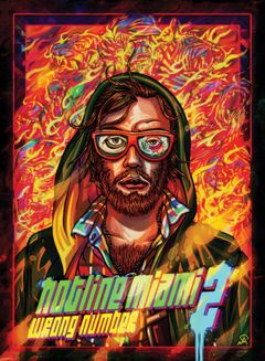 Jaquette Hotline Miami 2 : Wrong Number