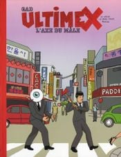 Couverture L'Axe du mâle - Ultimex, tome 2