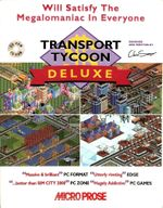 Jaquette Transport Tycoon Deluxe