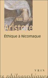 Couverture Éthique à Nicomaque