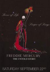 Affiche Freddie Mercury, the Untold Story