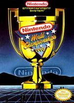 Jaquette Nintendo World Championships 1990