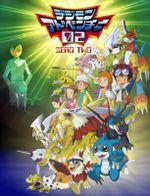 Affiche Les Digimon - Saison 2