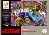 Jaquette Teenage Mutant Hero Turtles IV: Turtles in Time