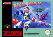 Jaquette Mega Man X