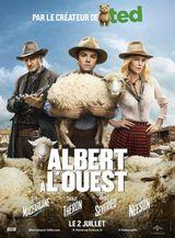 Affiche Albert à l'ouest