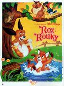 Affiche Rox et Rouky