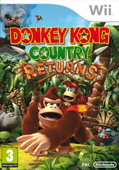 Jaquette Donkey Kong Country Returns