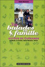 Couverture 30 balades en famille autour de Guérande