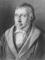 Photo Georg Wilhelm Friedrich Hegel