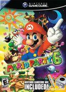 Jaquette Mario Party 6