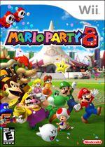 Jaquette Mario Party 8