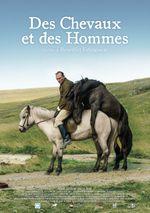 Affiche Des chevaux et des hommes