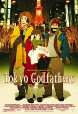 Affiche Tokyo Godfathers