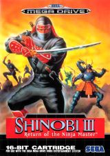 Jaquette Shinobi III : Return of the Ninja Master