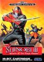 Jaquette Shinobi III : Return of the Ninja Master