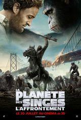 Affiche La Planète des singes : L'Affrontement