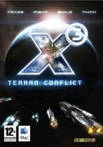 Jaquette X ³ : Conflit Terrien
